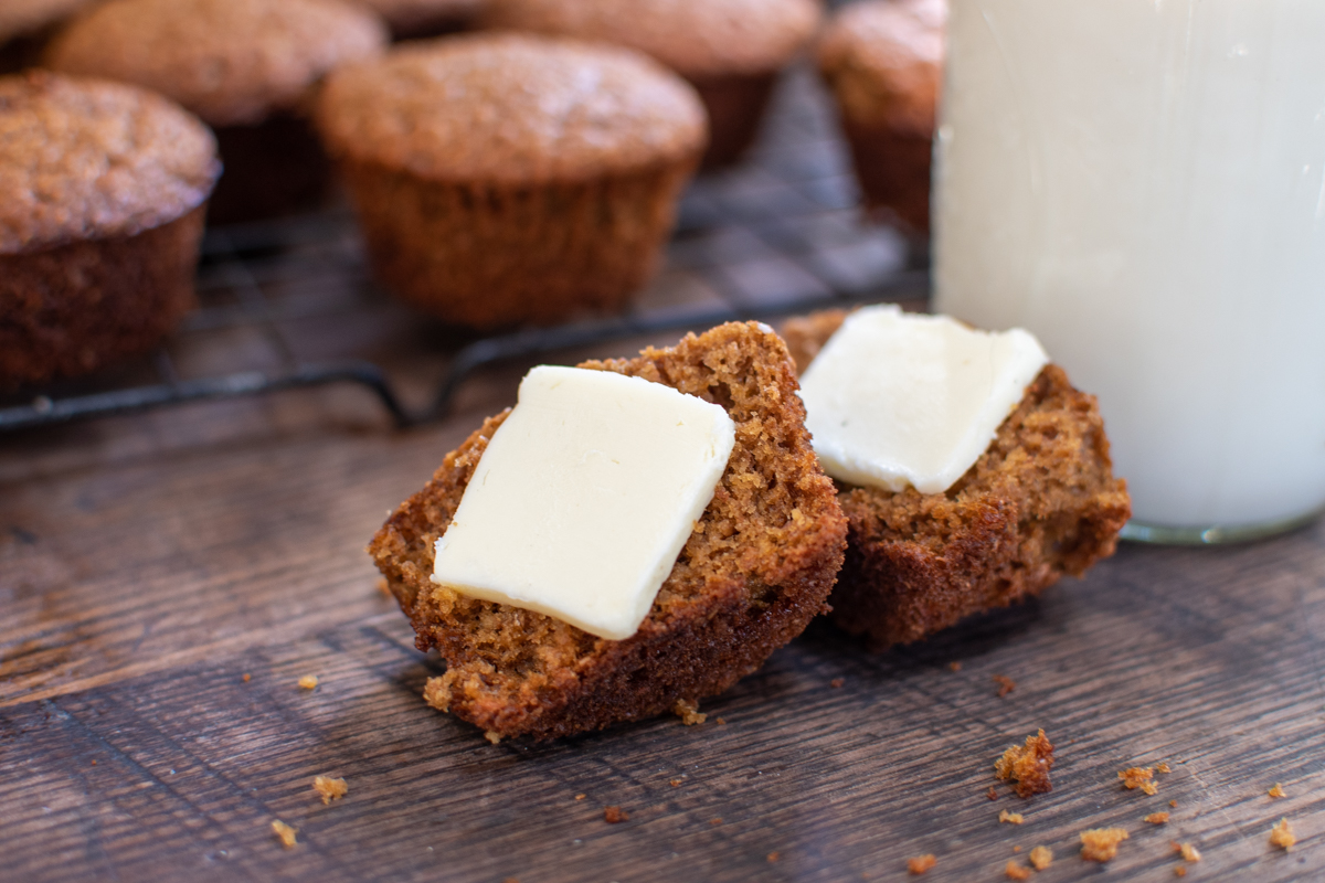 My Mama's Mama's Bran Muffins