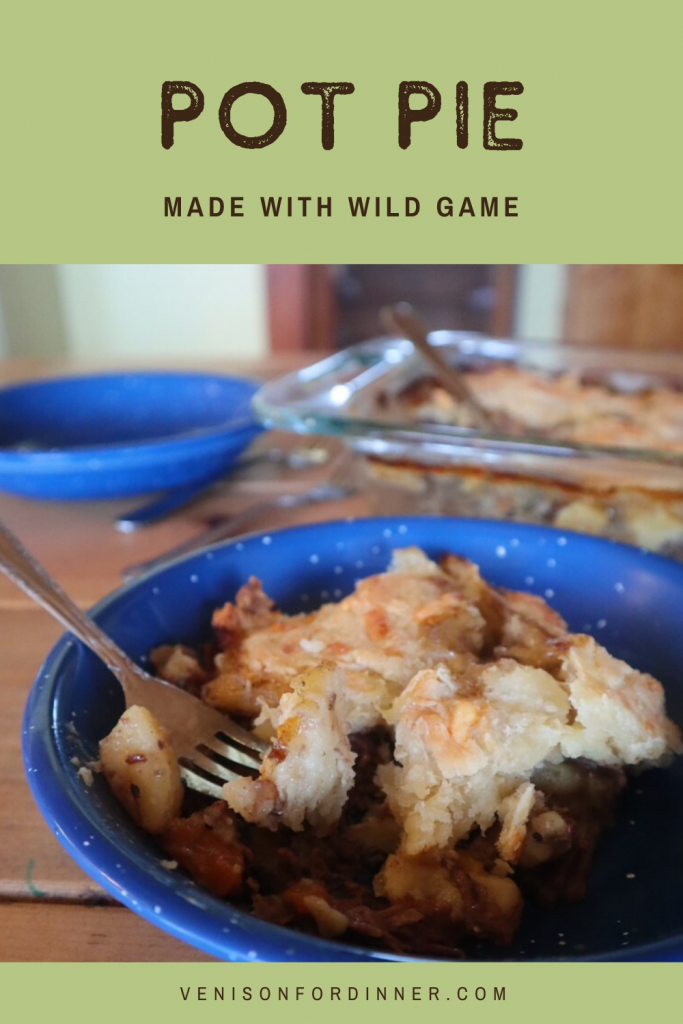 wild game pot pie