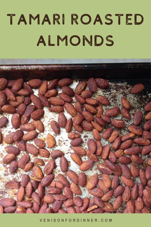 tamari roasted almond snack