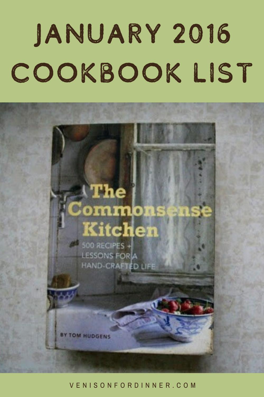 January 2016 favorite cookbook list