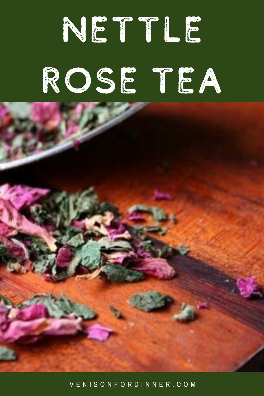 rose nettle tea
