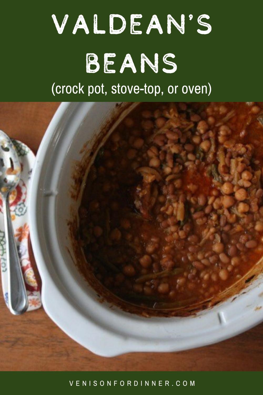 valdean's beans baked beans