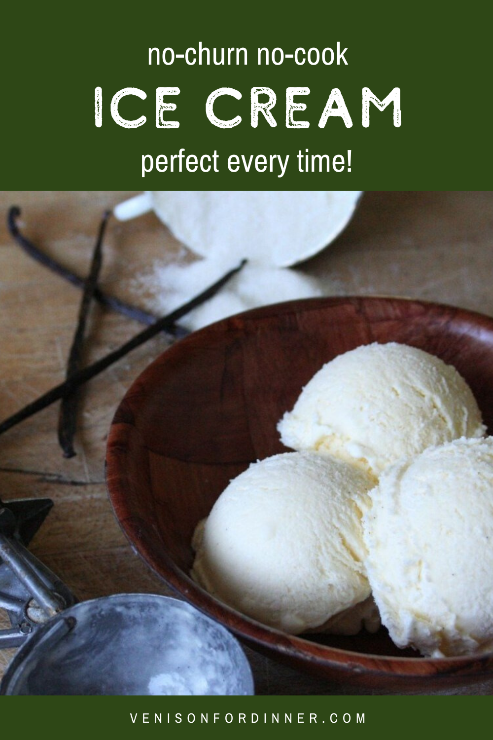 No-churn perfect every time ice cream