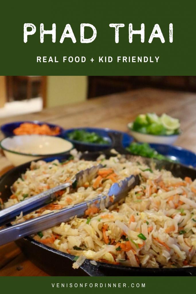 real food kid friendly phad thai