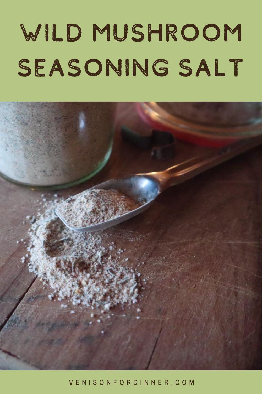 wild mushroom seasoning salt