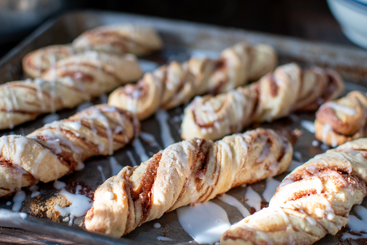 Overnight Cinnamon Twists