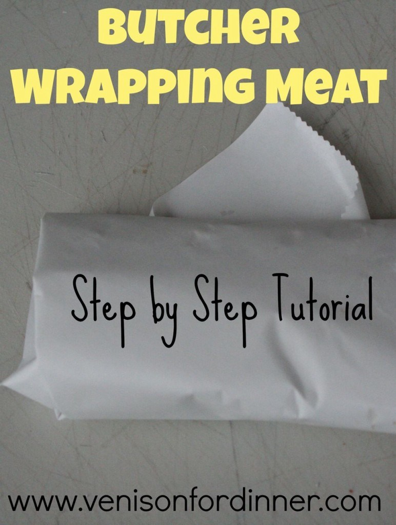 How To Wrap Meat with Butcher Wrap