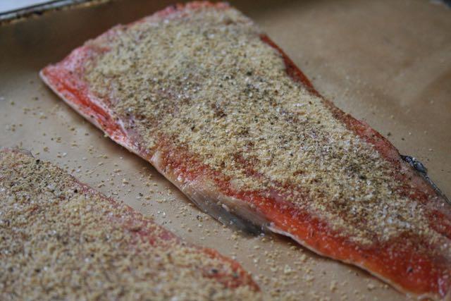 Maple Sugar Salmon