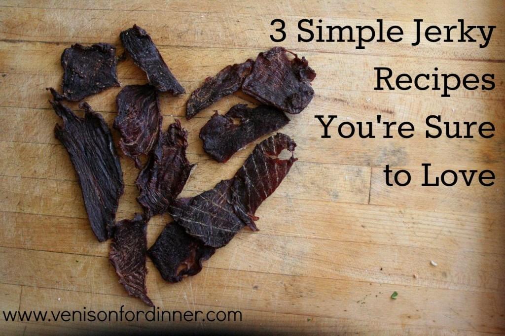 Simple Homemade Jerky Recipe