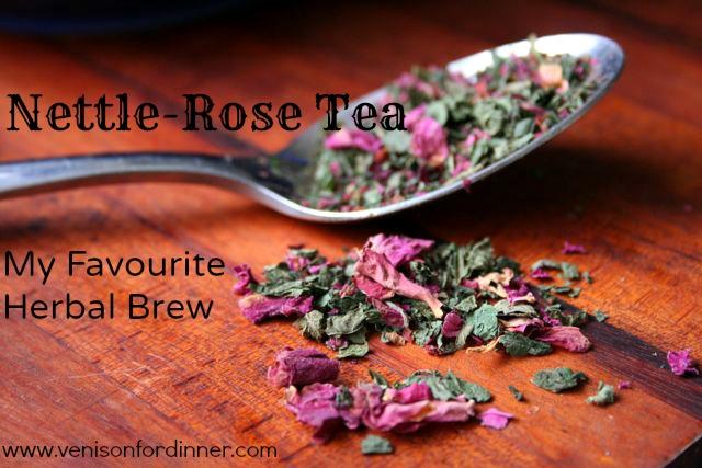 Nettle Rose Tea