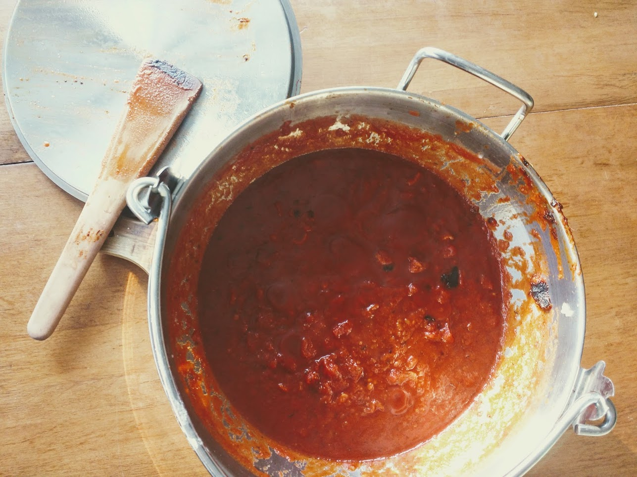 Tomato Bacon Pasta Sauce