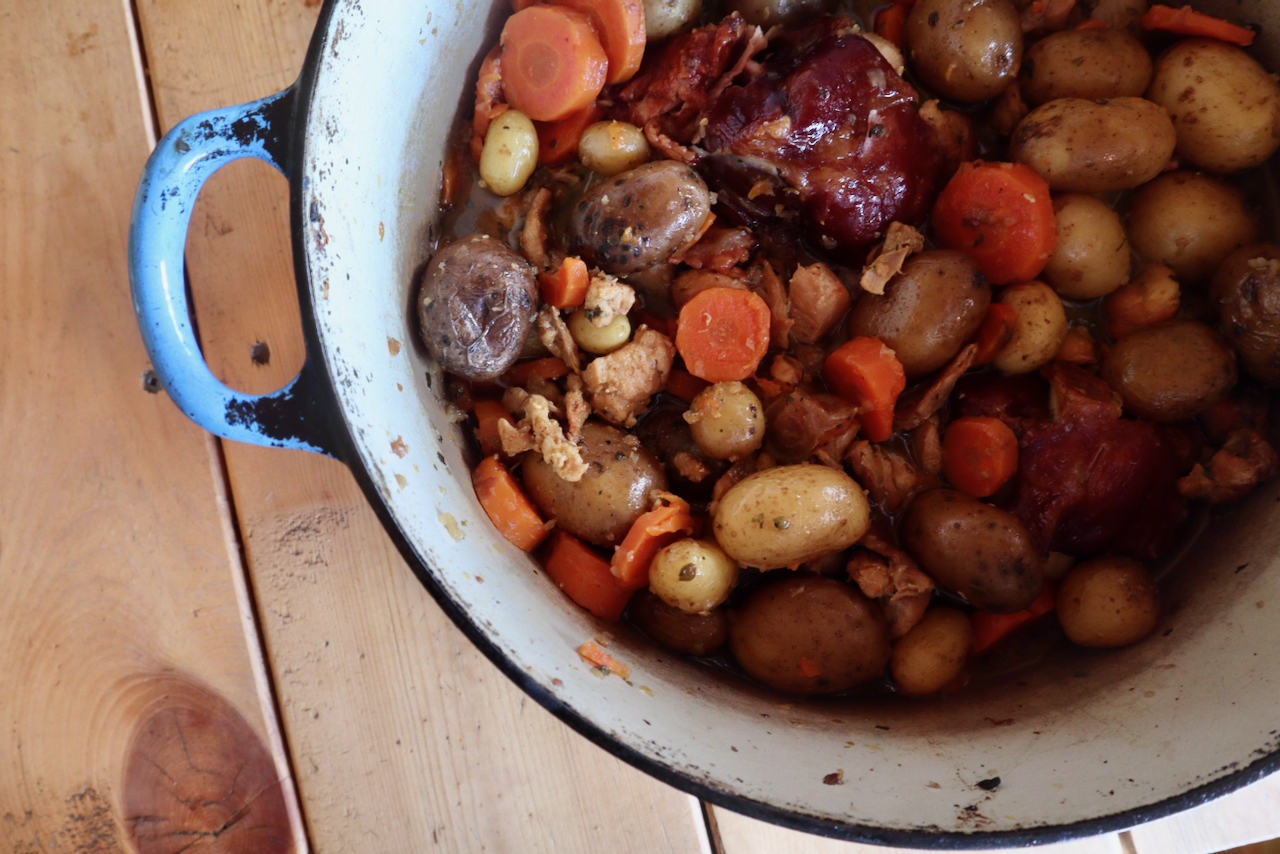 Cipate Recipe- A One Pot Rabbit Dinner