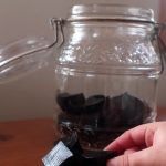 elderberry syrup elderberry gummy glass jar