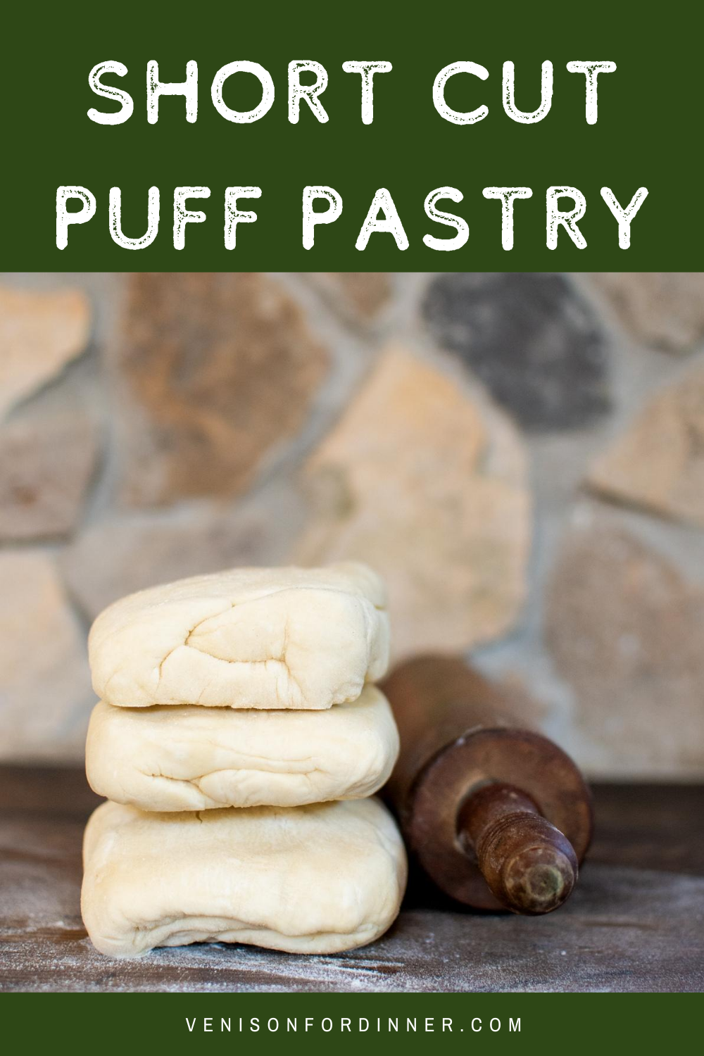 Shortcut puff pastry homemade