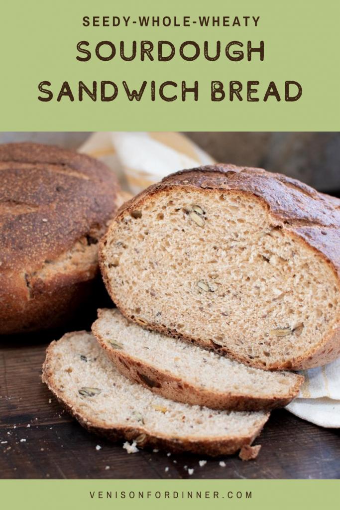 seed whole wheat sandwich bread