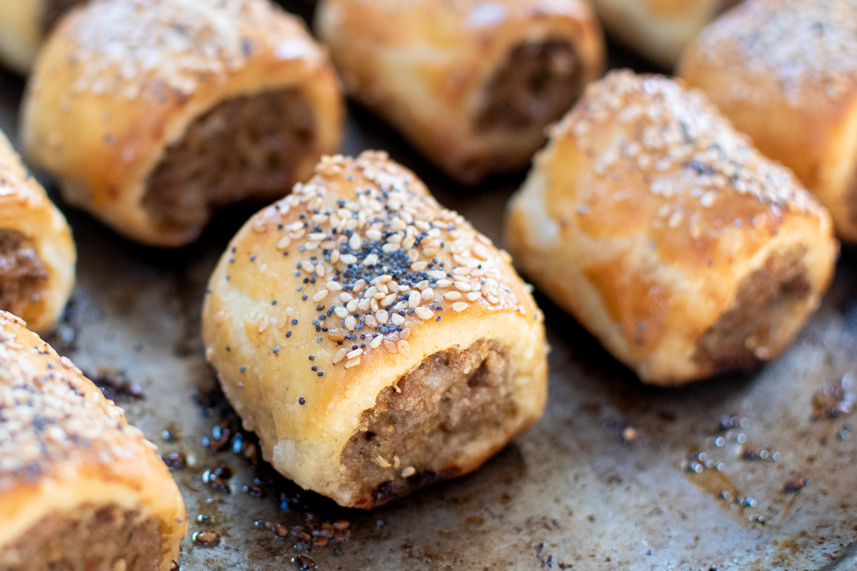 Sausage Rolls from Scratch