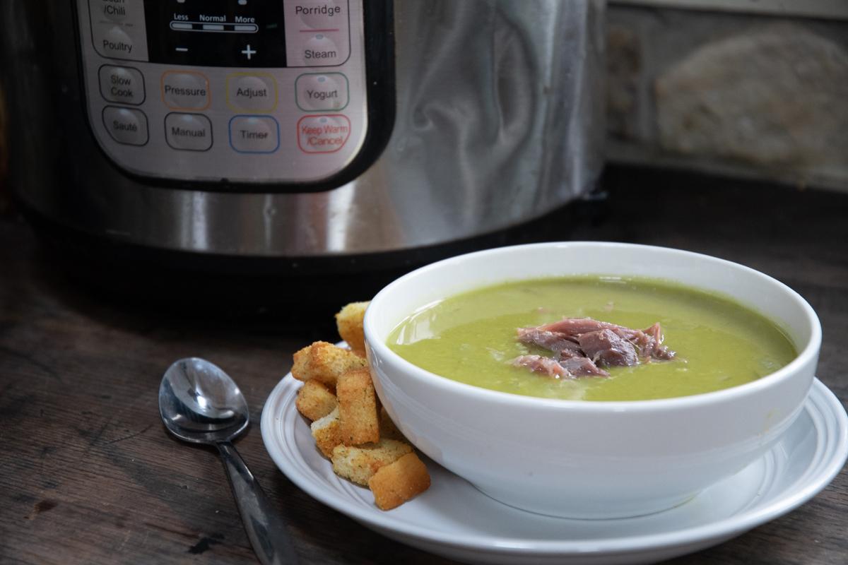Instant Pot Ham Bone Pea Soup