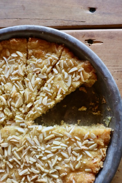 Almond ring shortbread