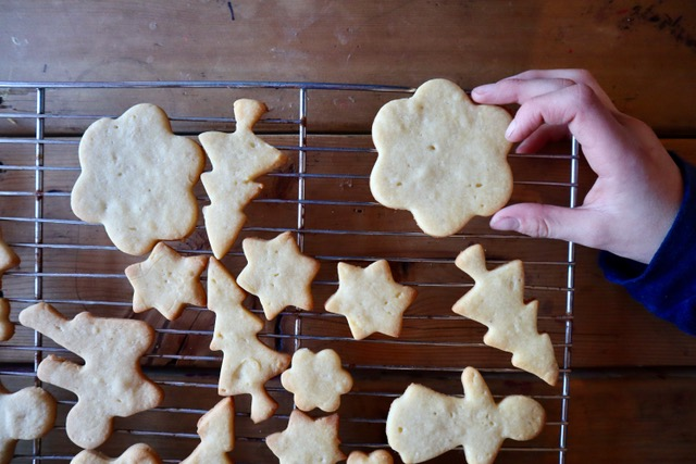 Happy Holidays Honey-Sweetened Cut Out Cookie Recipe